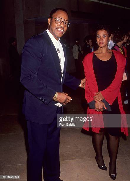 Actor Roger E Mosley and girlfriend Toni Laudermick attend the American Cinema Awards Foundation's Donald O'Connor An American Treasure a 65th...