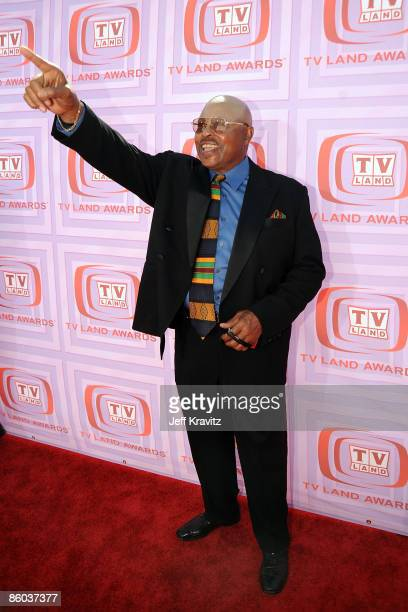 Actor Roger E Mosley arrives at the 7th Annual TV Land Awards held at Gibson Amphitheatre on April 19 2009 in Universal City California