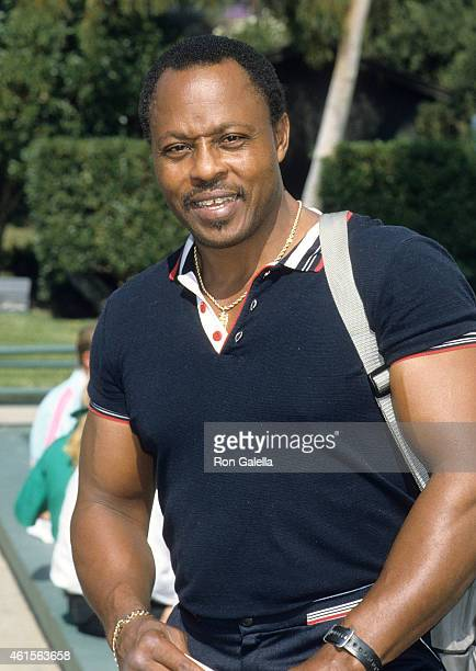 Actor Roger E Mosley attends the Third Annual Victoria Principal Tennis Classic to Benefit the National Arthritis Foundation on October 18 1986 at...