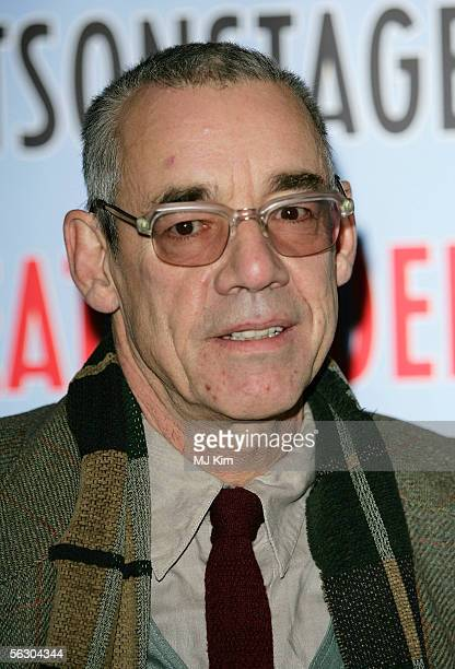 Actor Roger Lloyd Pack attends the press launch for the Theatregoers' Choice Awards at Planet Hollywood on November 30 2005 in London England The...