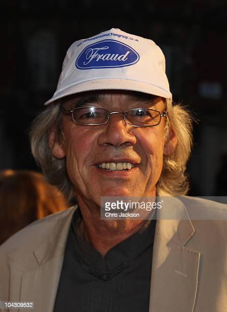 Actor Roger Lloyd Pack attends the World Premiere of 'Made In Dagenham' in association with Quintessentially at the Odeon Leicester Square on...