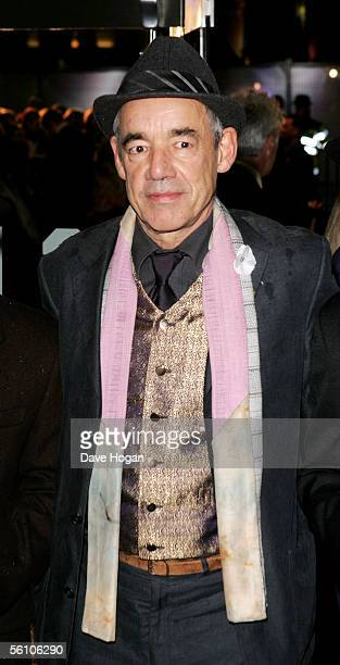 Actor Roger LloydPack arrives at the World Premiere of 'Harry Potter And The Goblet Of Fire' at the Odeon Leicester Square on November 6 2005 in...
