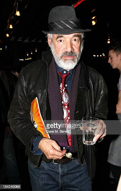 Actor Roger LloydPack attends the Press Night performance of La Soiree Christmas At The Roundhouse a risque variety show featuring worldrenowned...