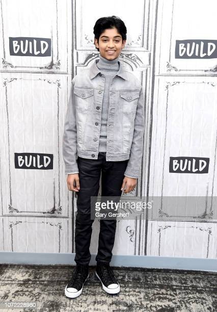 Actor Rohan Chand visits Build Series to discuss the film 'Mowgli Legend of the Jungle' at Build Studio on December 12 2018 in New York City