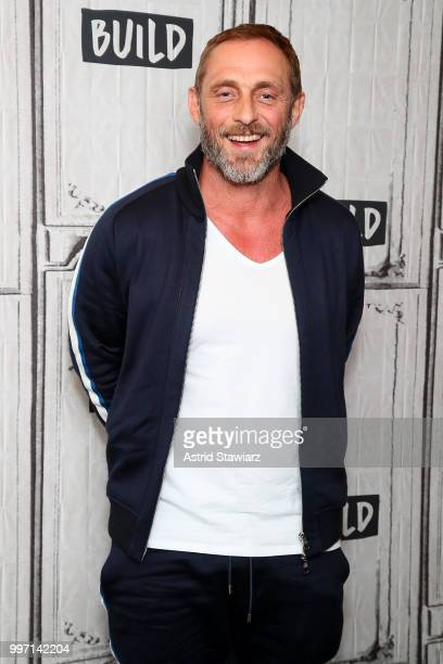 Actor Roland Moller visits Build studio on July 12 2018 in New York City