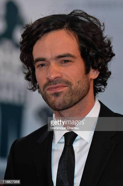 Actor Romain Duris attends the 'Persecution ' premiere at the Sala Grande during the 66th Venice Film Festival on September 5 2009 in Venice Italy