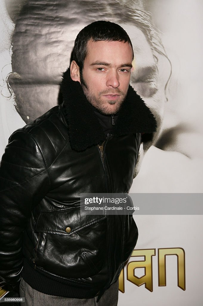 Actor Romain Duris attends the premiere of 'Darshan' in Paris.