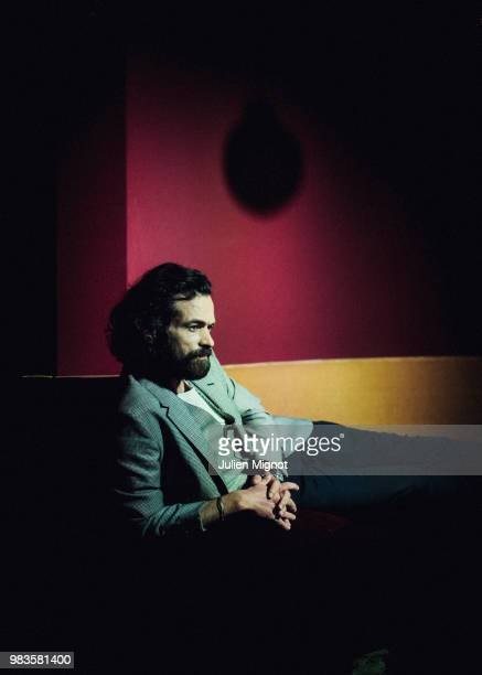 Actor Romain Duris is photographed for Grazia Daily on May 2018 in Cannes France