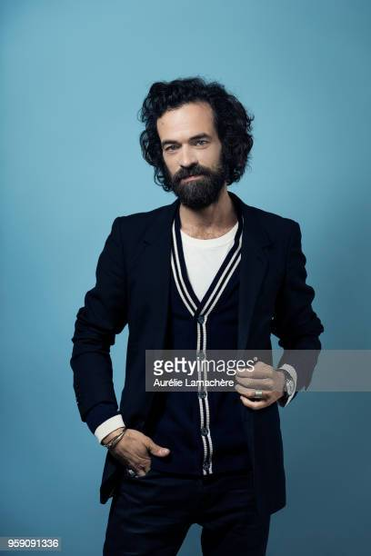 Actor Romain Duris is photographed for Self Assignment on May 2018 in Cannes France