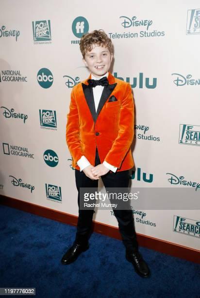 Actor Roman Griffin Davis attends the 2020 Walt Disney Company PostGolden Globe Awards Show celebration at The Beverly Hilton Hotel on January 05...