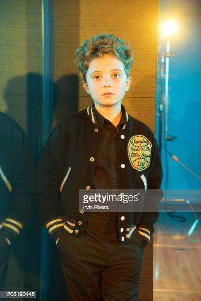 Actor Roman Griffin Davis from 'Jojo Rabbit' is photographed for the Wrap Magazine on September 8 2019 in Toronto Canada