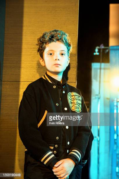 Actor Roman Griffin Davis from 'Jojo Rabbit' is photographed for the Wrap Magazine on September 8 2019 in Toronto Canada PUBLISHED IMAGE