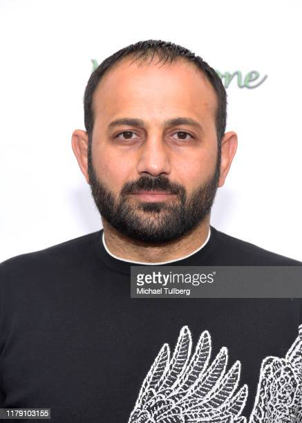 """Actor Roman Mitichyan attends the premiere of the film """"Never Alone"""" at Arena Cinelounge on October 04, 2019 in Hollywood, California."""