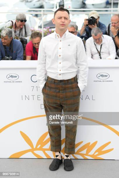 Actor Roman Zver attends the photocall for 'Leto' during the 71st annual Cannes Film Festival at Palais des Festivals on May 10 2018 in Cannes France