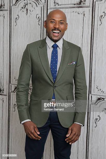 Actor Romany Malco attends AOL Build Speaker Series to chat about Mad Dogs at AOL Studios In New York on January 19 2016 in New York City