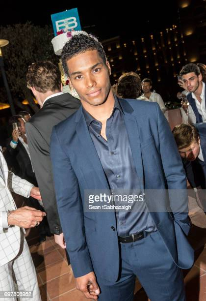 Actor Rome Edwards attends the 'The Bold and The Beautiful' 30th Anniversary Party during the 57th Monte Carlo TV Festival Day 3 on June 18 2017 in...