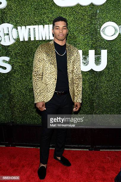 Actor Rome Flynn arrives at the CBS CW Showtime Summer TCA Party at Pacific Design Center on August 10 2016 in West Hollywood California
