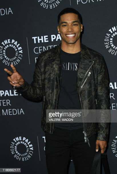US actor Rome Flynn attends An Evening with How to Get Away with Murder presented by The Paley Center for Media November 19 in Beverly Hills