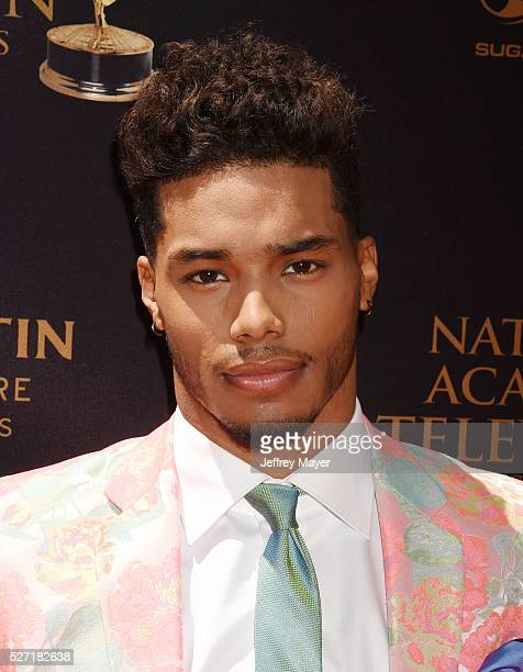 Actor Rome Flynn attends the 2016 Daytime Emmy Awards Arrivals at Westin Bonaventure Hotel on May 1 2016 in Los Angeles California