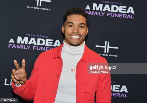 Actor Rome Flynn attends the NY special screening for Tyler Perry's 'A Madea Family Funeral' at SVA Theater on February 25 2019 in New York City