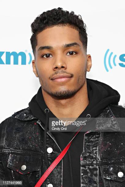 Actor Rome Flynn visits the SiriusXM Studios on February 25 2019 in New York City