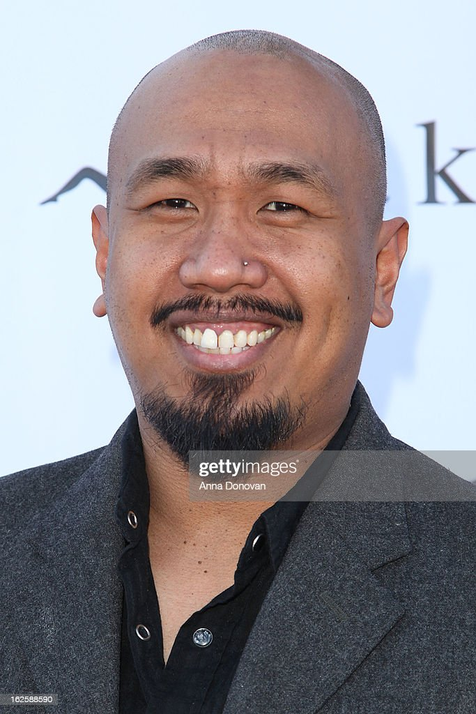 Actor Rommel Suniga attends the Los Angeles premiere of the movie 'Changing Hands' at The Happy Ending Bar & Restaurant on February 24, 2013 in Hollywood, California.