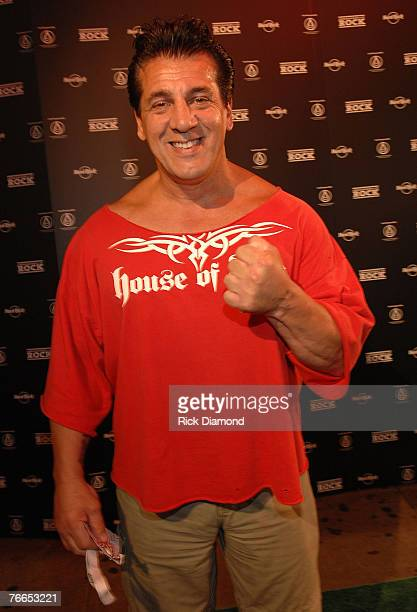 Actor Ron Castellano arrives on The Green Carprt at The Launch of the Sustainable Biodiesel Alliance at the Hard Rock Cafe in New York City on...