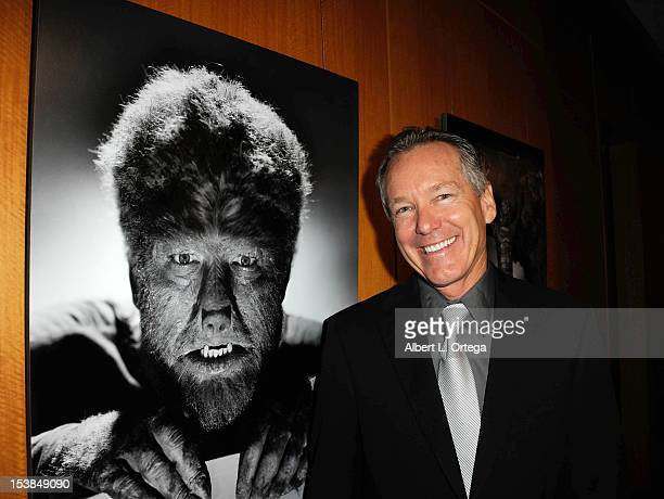 Actor Ron Chaney participates in AMPAS Hosted Universal's Legacy Of Horror Screening Series 'The Wolf Man' And 'An American Werewolf In London' held...