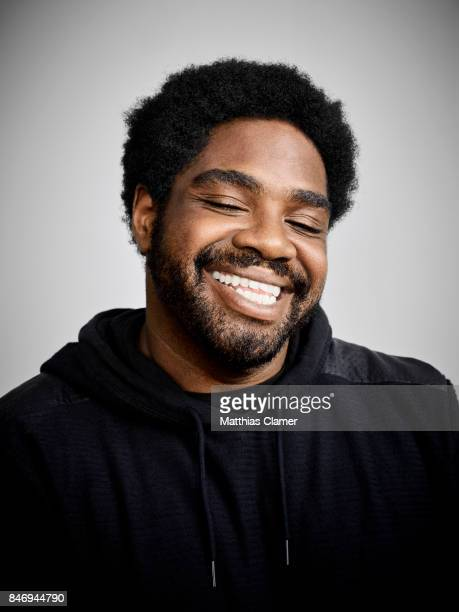 Actor Ron Funches from 'Powerless' is photographed for Entertainment Weekly Magazine on July 22 2016 at Comic Con in the Hard Rock Hotel in San Diego...