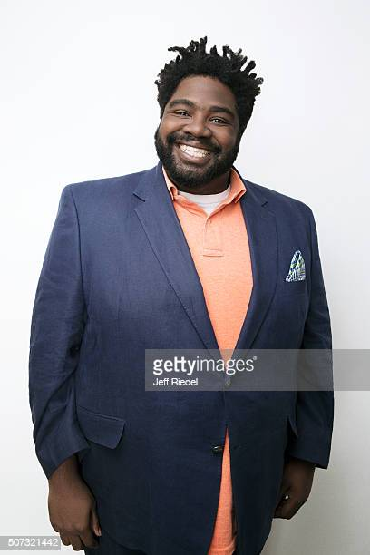 Actor Ron Funches is photographed for TV Guide Magazine on January 16 2015 in Pasadena California