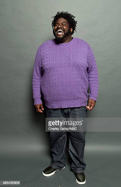 Actor Ron Funches poses for a portrait during the 2014 NBCUniversal Summer Press Day at The Langham Huntington on April 8, 2014 in Pasadena,...