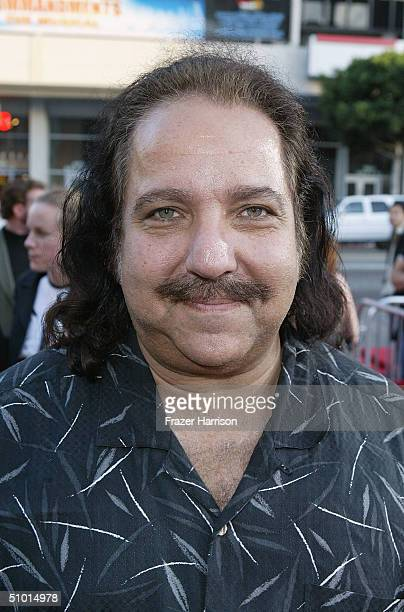 """Actor Ron Jeremy arrives at the World Premiere of """"LA Twister"""" on June 30, 2004 at the Grauman's Chinese Theatre, in Hollywood, California."""