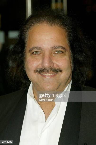 Actor Ron Jeremy arrives for the Gumball 3000 The Movie World Premiere held on November 20 2003 at the Odeon Leicester Square in London