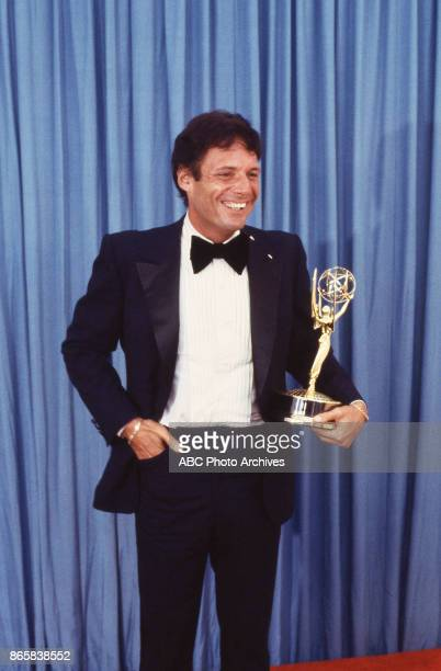Actor Ron Liebman with his Emmy Award in the press room at The 31st Annual Primetime Emmy Awards on September 9 1979 at the Pasadena Civic Auditorium...