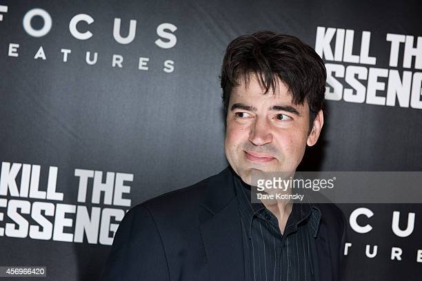 Actor Ron Livingston arrives at the Kill The Messenger New York Screening at Museum of Modern Art on October 9 2014 in New York City