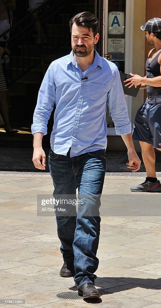 Actor Ron Livingston as seen on July 15, 2013 in Los Angeles, California.