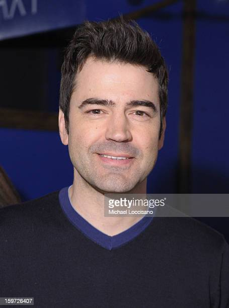 Actor Ron Livingston attends Day 2 of Samsung Galaxy Lounge at Village At The Lift 2013 on January 19 2013 in Park City Utah