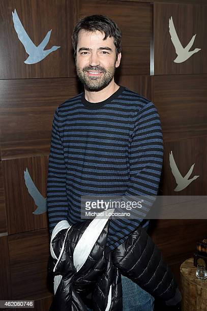 Actor Ron Livingston attends GREY GOOSE Blue Door Hosts The End of Tour Party on January 23 2015 in Park City Utah