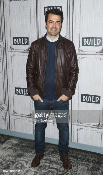 Actor Ron Livingston attends the Build Series to discuss 'A Million Little Things' at Build Studio on September 25 2018 in New York City