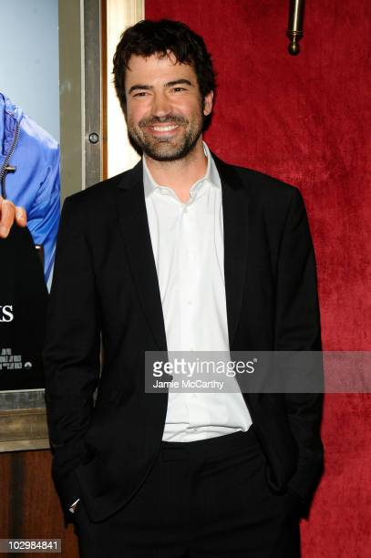Actor Ron Livingston attends the Dinner For Schmucks premiere at the Ziegfeld Theatre on July 19 2010 in New York City