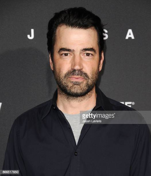 Actor Ron Livingston attends the premiere of Jigsaw at ArcLight Hollywood on October 25 2017 in Hollywood California