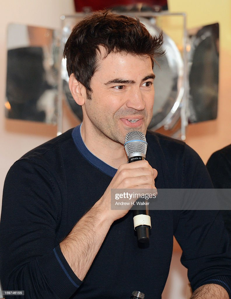 Actor Ron Livingston attends the Stella Artois press junket for Sundance Film 'Touchy Feely' at Village at the Lift on January 19, 2013 in Park City, Utah.