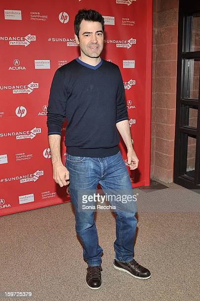 Actor Ron Livingston attends the Touchy Feely premiere at Eccles Center Theatre during the 2013 Sundance Film Festival on January 19 2013 in Park...