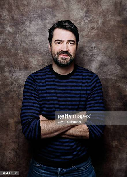 Actor Ron Livingston is photographed for Los Angeles Times at the 2015 Sundance Film Festival on January 24 2015 in Park City Utah PUBLISHED IMAGE...