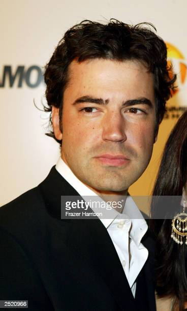 Actor Ron Livingstone arrives at the Entertainment Tonight Emmy Party Sponsored by GLAMOUR held at the Mondrian on September 21, 2003 in Hollywood,...