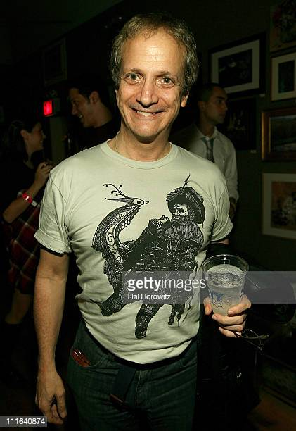 Actor Ron Palillo of Welcome Back Kotter attends the Rotter Friends and Mooka Kinney CMJ Party Presented by I Heart on October 18 2007 in New York...