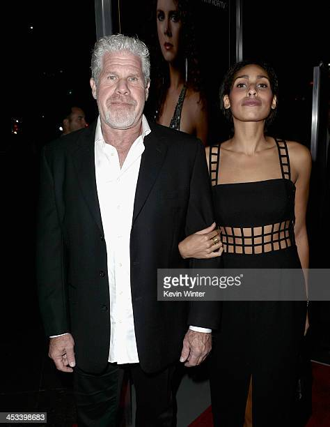 Actor Ron Perlman and daughter actress Blake Perlman attend Columbia Pictures And Annapurna Pictures' American Hustle Special Screening at Directors...