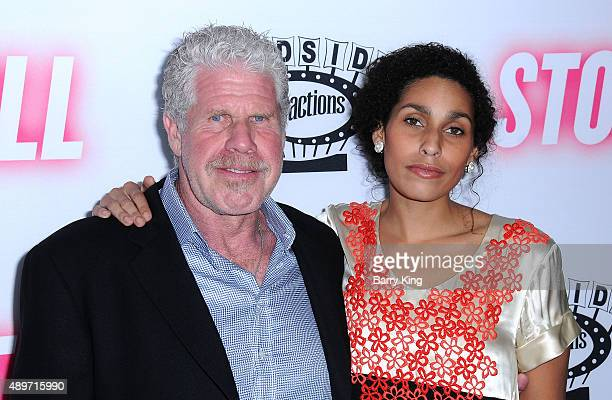 Actor Ron Perlman and his daughter actress Blake Perlman attend the premiere of Roadside Attractions' 'Stonewall' at the Pacific Design Center on...