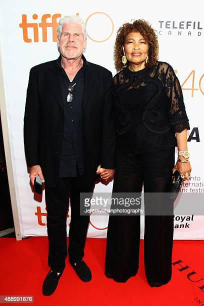 Actor Ron Perlman and Opal Perlman attend the Stonewall premiere during the 2015 Toronto International Film Festival held at Roy Thomson Hall on...