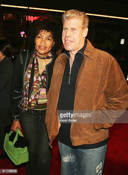 Actor Ron Perlman and wife Opal arrive at the AFI Fest 2004 screening of Warner Independent Pictures' A Very Long Engagement at the Chinese Theater...